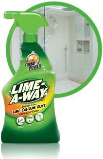 Lime-A-Way® Trigger to remove hard water stains