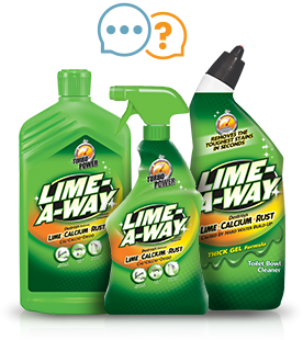 Q. How Does LIME-A-WAY® Aid In Hard Water Stain Removal?